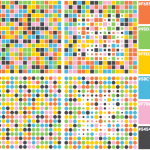 A collection of colors for data visualization